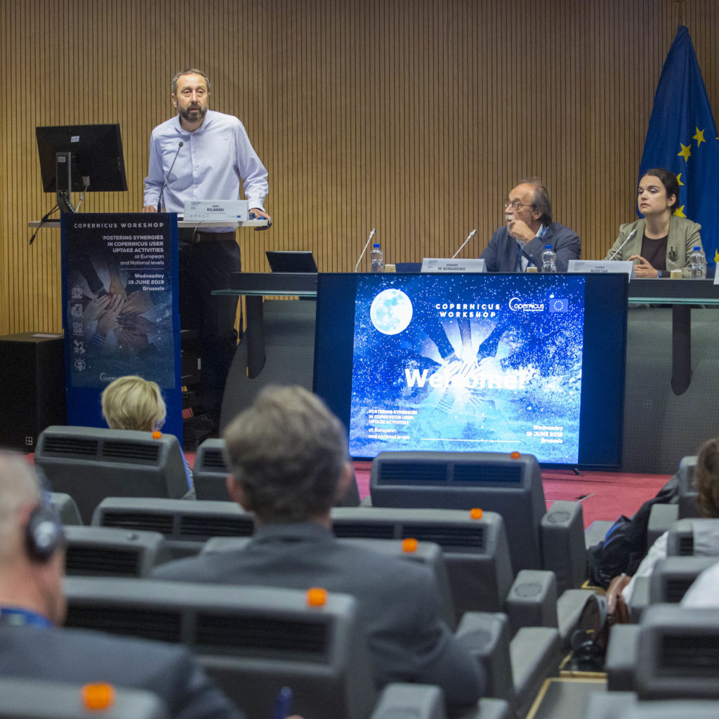 Workshops and training sessions enable Copernicus to reach new users