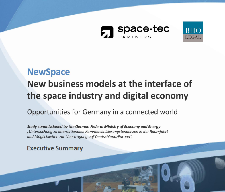 NewSpace – New Business Models at the Interface of Space Industry and Digital Economy