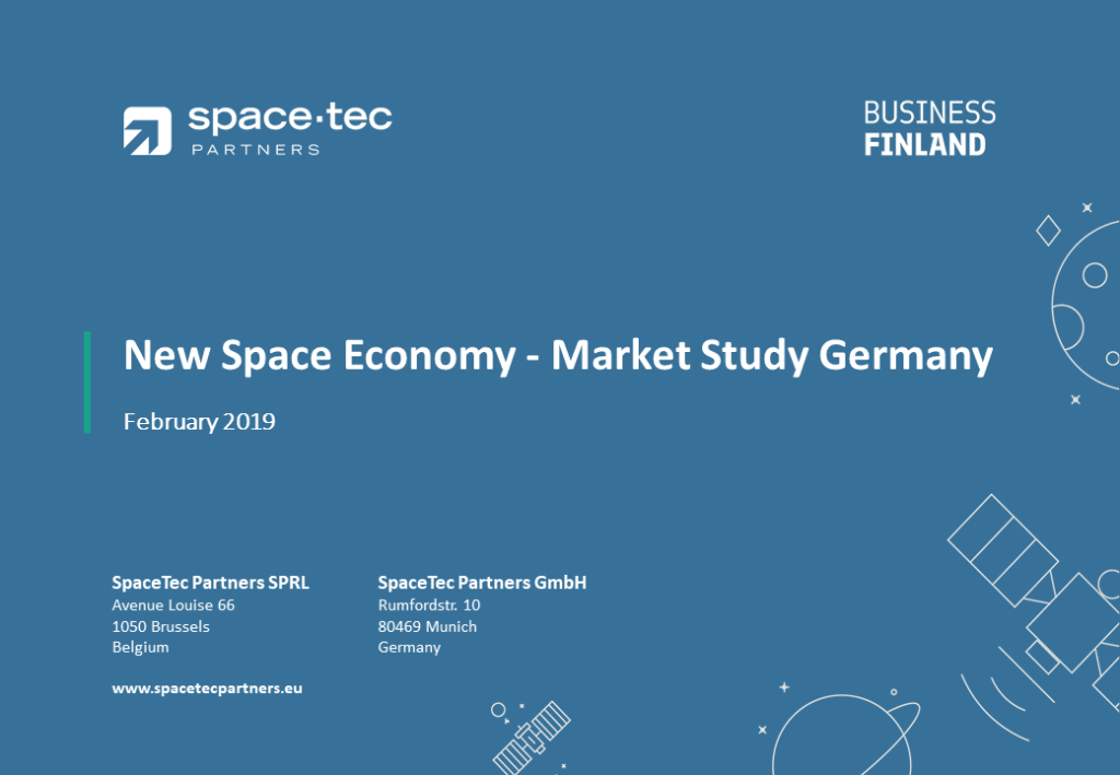 Finnish New Space Economy cooperation opportunities in Germany