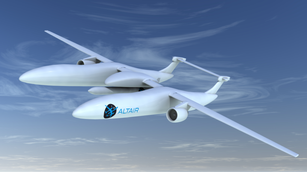 ALTAIR (Air Launch space Transportation using an Automated aircraft and an Innovative Rocket)